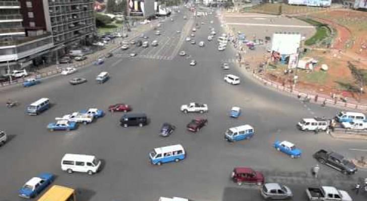 In Äthiopien braucht man keine Ampeln