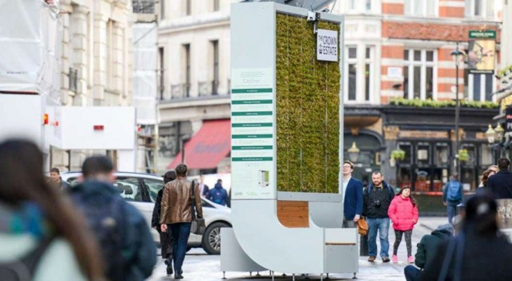 Questa panchina tecnologica può assorbire più smog di una piccola foresta