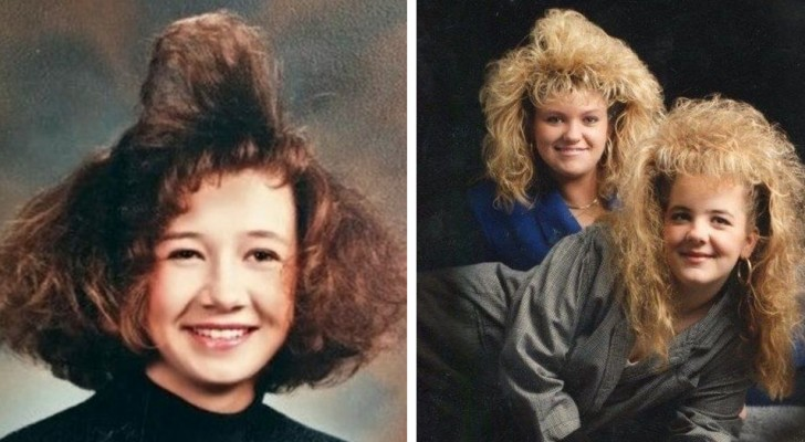 Falls ihr vergessen habt, wie Frisuren in den 80er Jahren aussahen
