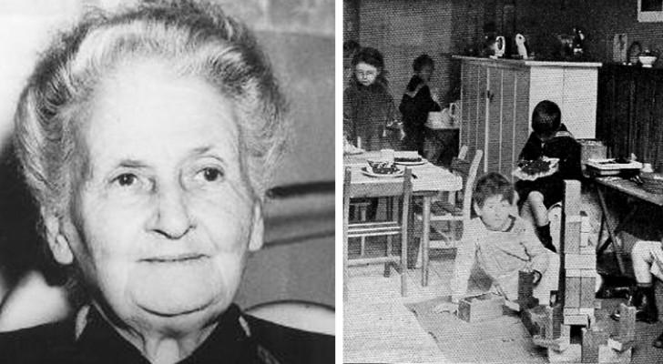 Aqui los consejos de Maria Montessori para crecer niños independientes y felices