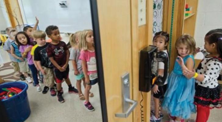 Les enfants arrivent à l'école avec un manque d'hygiène, alors les enseignants créent pour eux un placard