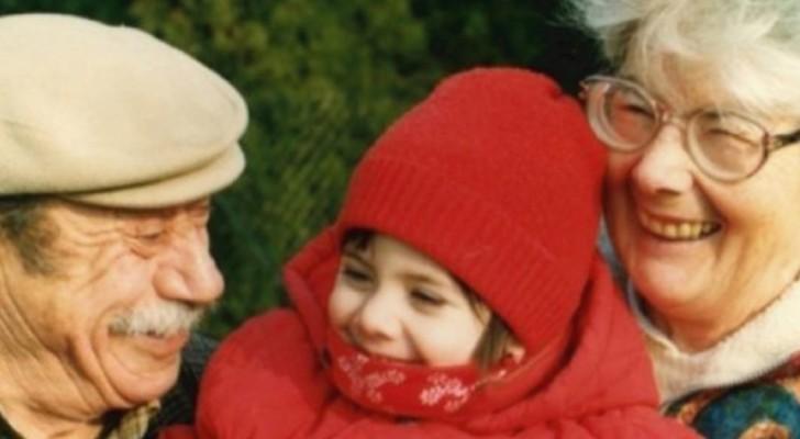 Los abuelos no le han hecho jamas sentir la falta del padre: 20 años despues aparece una carta angustiosa