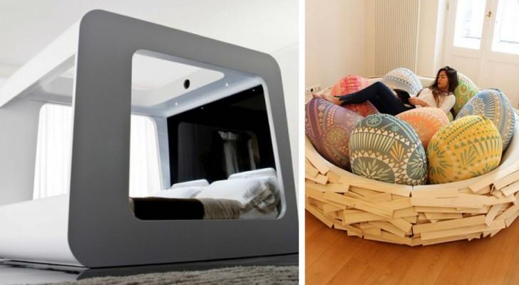 Is slapen jouw passie? Hier zijn enkele van de meest originele en comfortabele bedden die er zijn