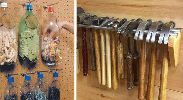 Voici quelques idées brillantes pour mieux organiser votre garage.