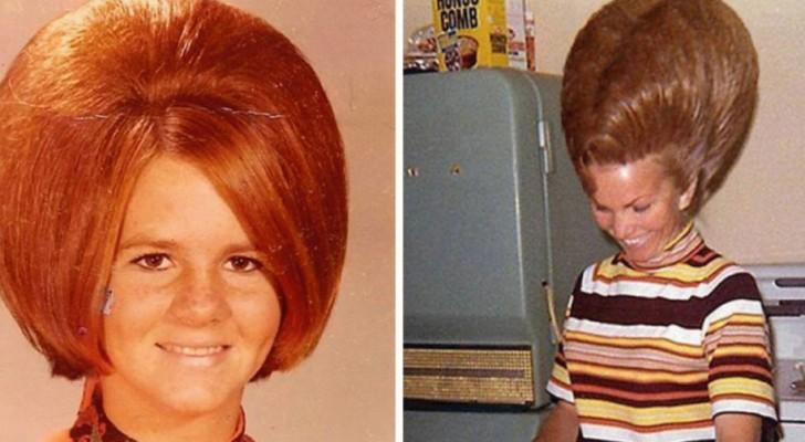Extra grote kapsels: 24 verrassende foto's uit de jaren '60