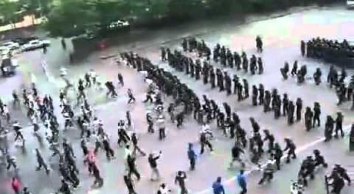 Totale Kontrolle bei der koreanischen Polizei