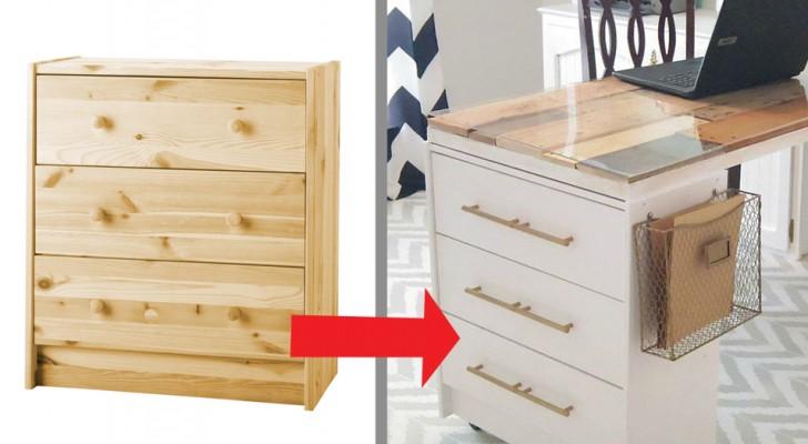 11 gör-det-själv-projekt för att göra enkla IKEA-möbler till designmöbler