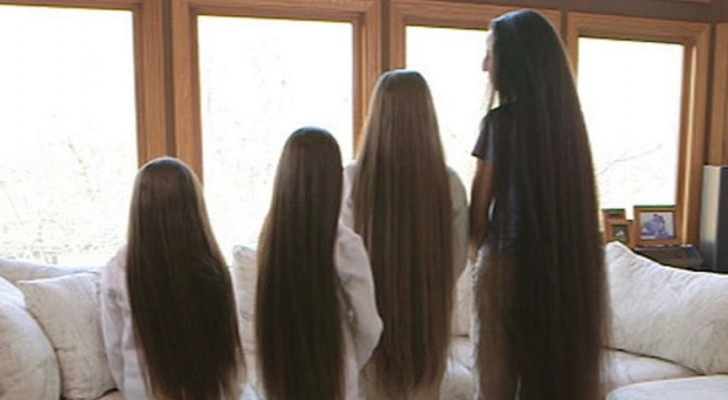 Questa donna e le sue 3 figlie hanno una mutazione che fa crescere i loro capelli a ritmi mai visti