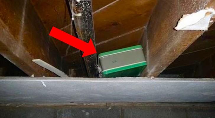 Il trouve une boîte en rénovant sa maison : lorsqu'il l'ouvre, il comprend que la chance a frappé.
