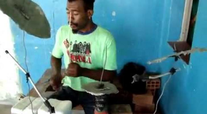 Il miglior batterista brasiliano