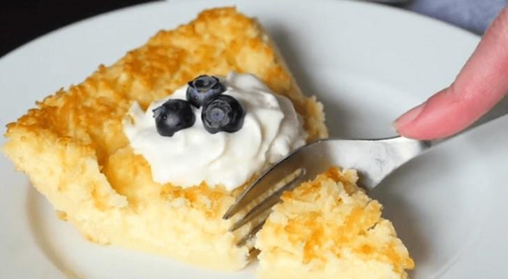 Dieser Zitronenkuchen ist köstlich und wird in nur einem einzigen Behälter zubereitet