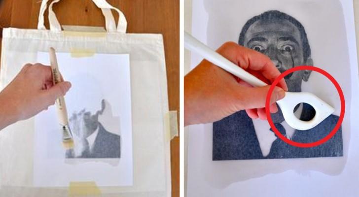 Übertragt eure Lieblings-Designs mit einer einfachen DIY-Methode auf Stoff