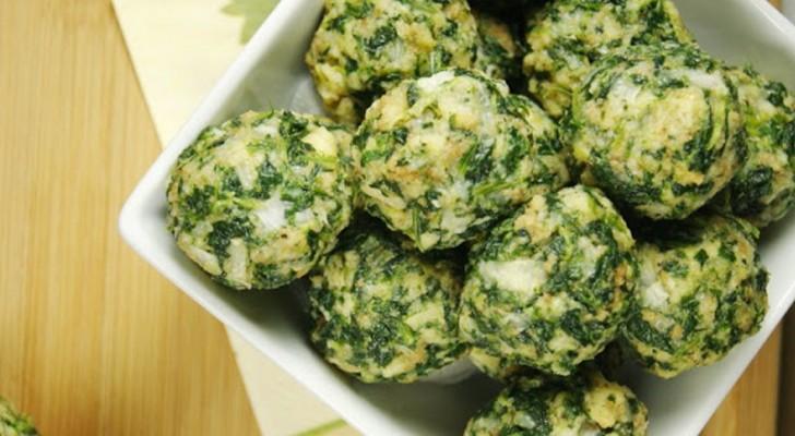 Boulettes d'épinards : la recette rapide et facile à préparer, que les enfants adoreront aussi.