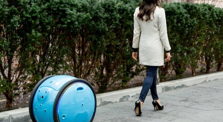 Hier komt de robotkoffer die je overal volgt: zodat je je kunt verplaatsen zonder het gewicht van de bagage