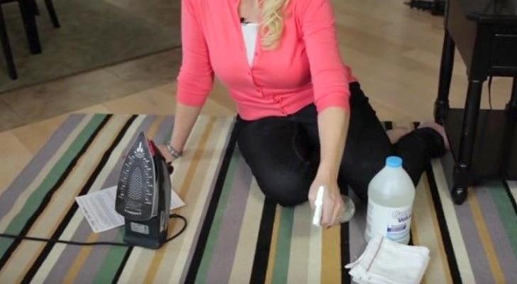 Ecco come togliere le macchie vecchie dai tappeti senza metterli in lavatrice e senza strofinare