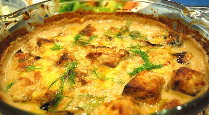 Gratin d'aubergines au parmesan : c'est la recette à cuisiner au four dont vous ne vous lasserez jamais.
