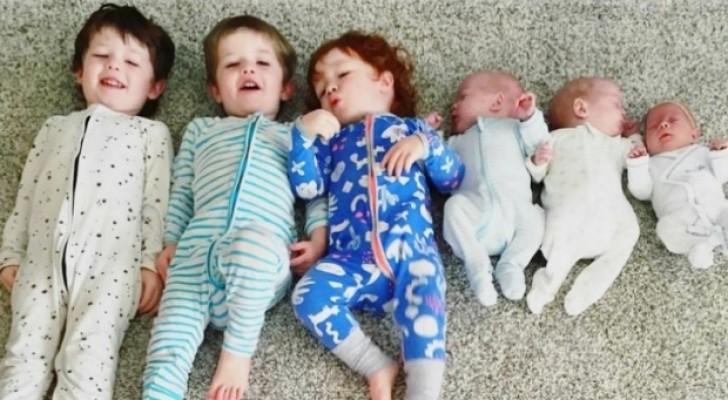 Seis filhos em três anos: a maravilhosa história de uma família muito diferente
