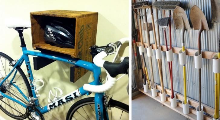 10 idées pratiques et ingénieuses pour organiser votre garage