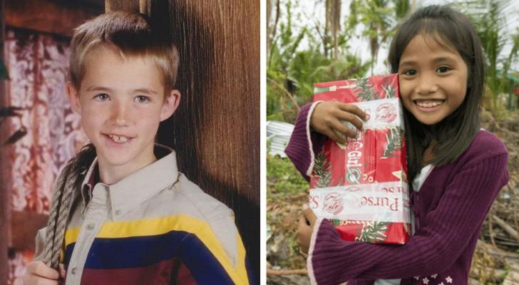 A 7 años envia un paquete de Navidad a las Filipinas: 14 años despues, aquel gesto les cambiara la vida