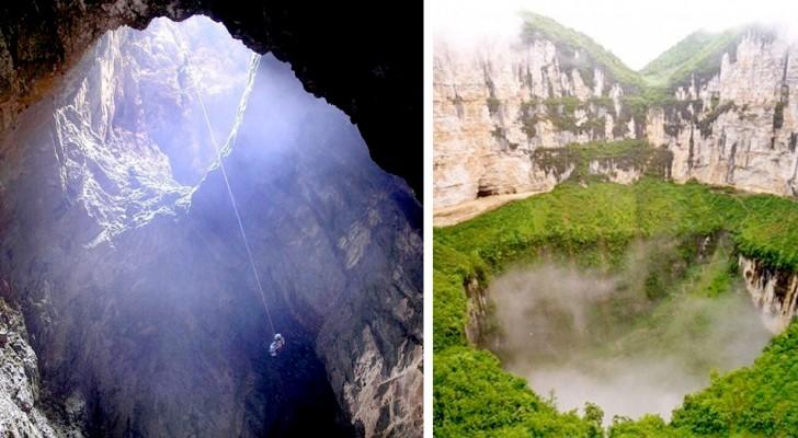 Alcune immagini mozzafiato delle 12 voragini più profonde e spettacolari della Terra