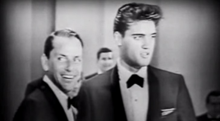 A rare video of Frank Sinatra who duets with Elvis! Here is a must-see piece of music history