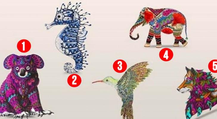 Titta på de här djuren och välj ut det som tilltalar dig mest: det här säger ditt val om din personlighet