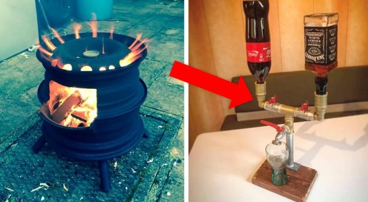 Lecciones de hágalo usted mismo: estas 22 fotos le mostrarán que incluso de los desechos se puede obtener algo útil