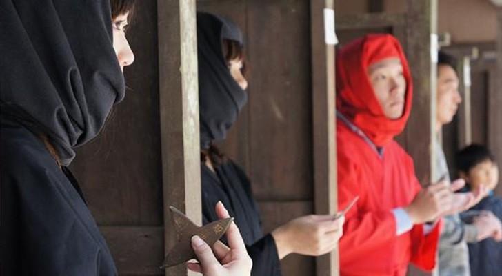 Un piccolo villaggio giapponese è alla disperata ricerca di ninja... nonostante il salario arrivi a 85.000$