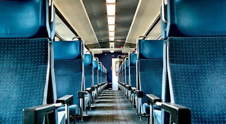 Een man beledigt een gehandicapte jongen in de trein: dan heeft hij er spijt van en verontschuldigt hij zich