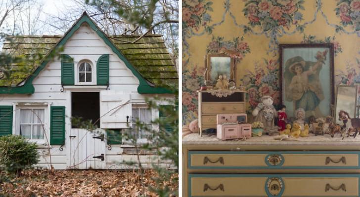 Ein Fotograf findet ein verlassenes Haus: Wenn Sie die Schwelle überschreiten, betreten Sie die Welt von Alice im Wunderland