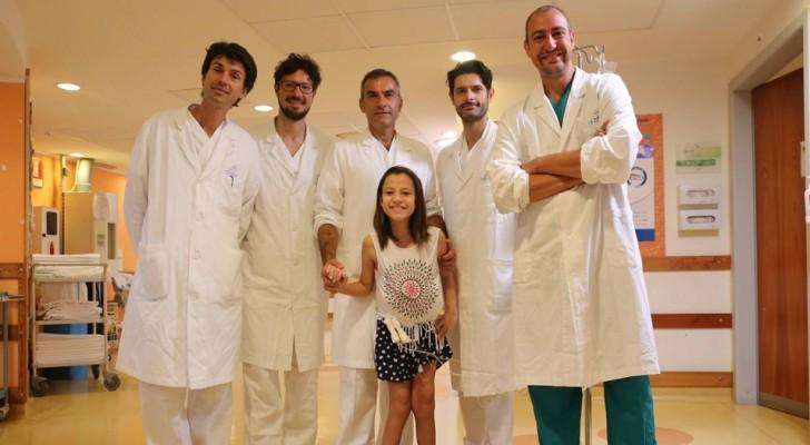 In Brasile non le avevano dato nessuna speranza: bimba salvata a Firenze con un'operazione unica al mondo