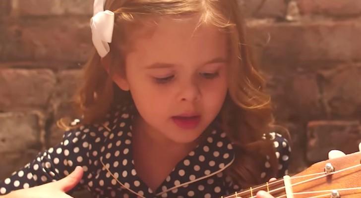 La piccola Claire ha realizzato un nuovo brano ed ha fatto già innamorare milioni di persone
