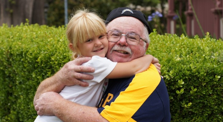 The grandparents who take care of their grandchildren live longer and a study confirms it!