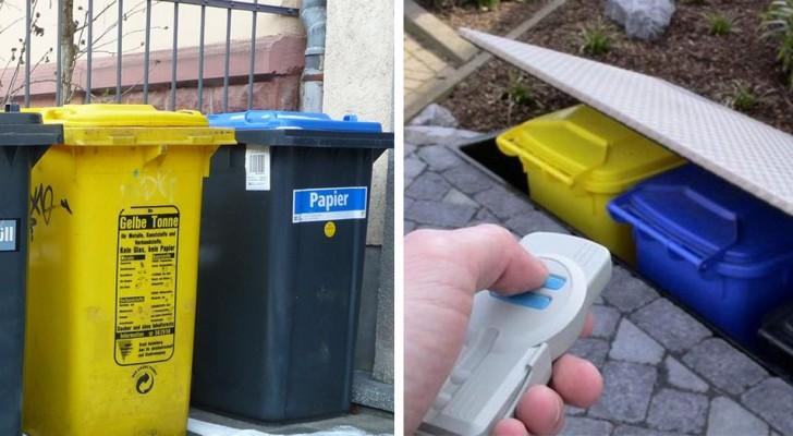 Cansados de bidones de la basura a la vista? Aqui 30 ideas mas para hacerlo mas soportable
