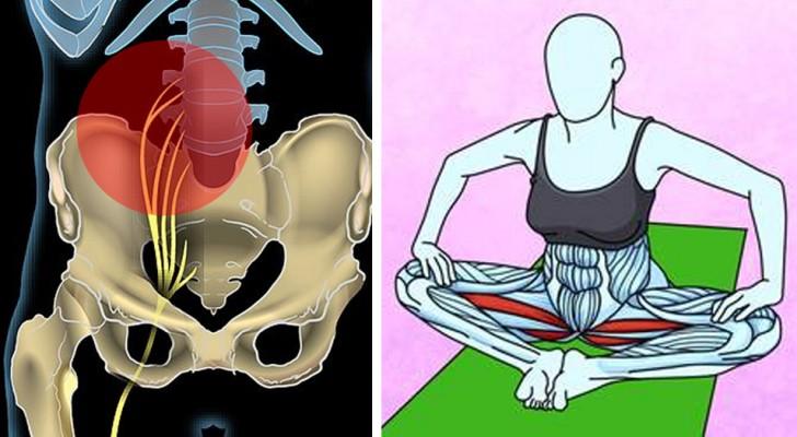 6 faciles ejercicios para liberarse del dolor de espalda y del nervio ciatico