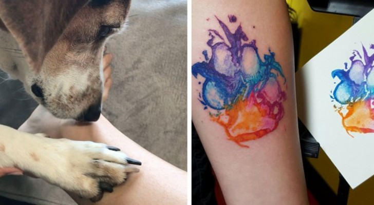 These tattoos dedicated to our four-legged friends will make you want to have one too