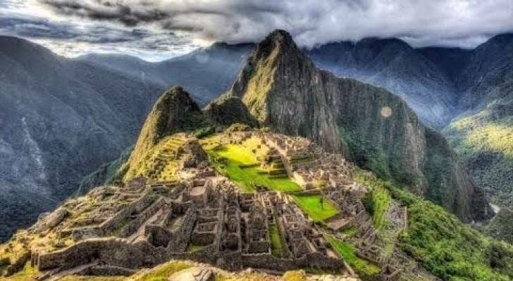 Road to Machu Picchu in Peru