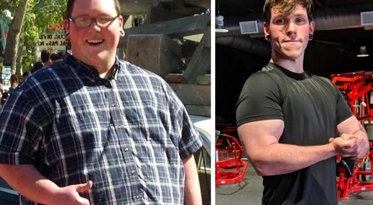 Den här killen gick ner 108 kg på bara 2 år, hans berättelse visar att det är dags att sluta hitta på ursäkter