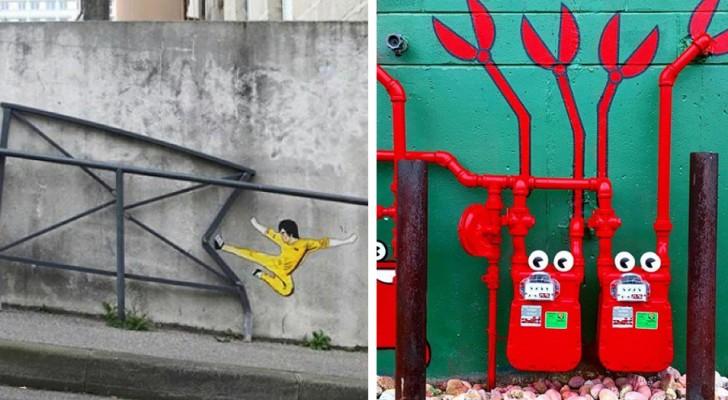 21 esempi di street art che rivoluzioneranno il vostro modo di guardare la città