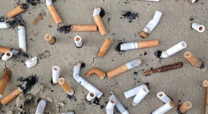 Vergessen Sie den Kunststoff: Zigarettenstummel stehen an erster Stelle bei den Abfällen im Ozean