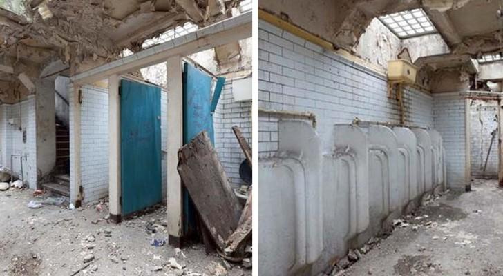 Una donna acquista dei vecchi bagni pubblici e li trasforma nella casa dei suoi sogni