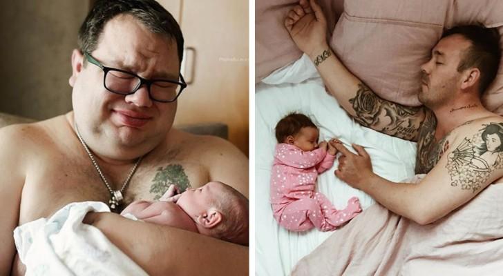 22 underbara bilder på pappor som utför det viktigaste jobbet i världen