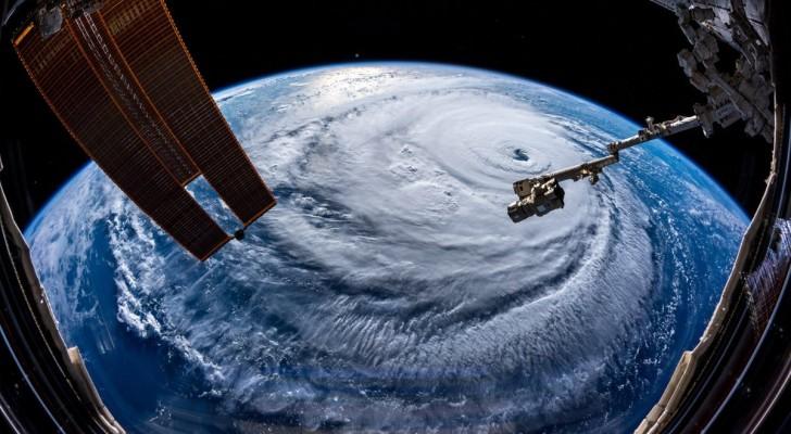 Gli astronauti stanno scattando foto dell'uragano Florence, e sono più spaventose di quanto immaginiate