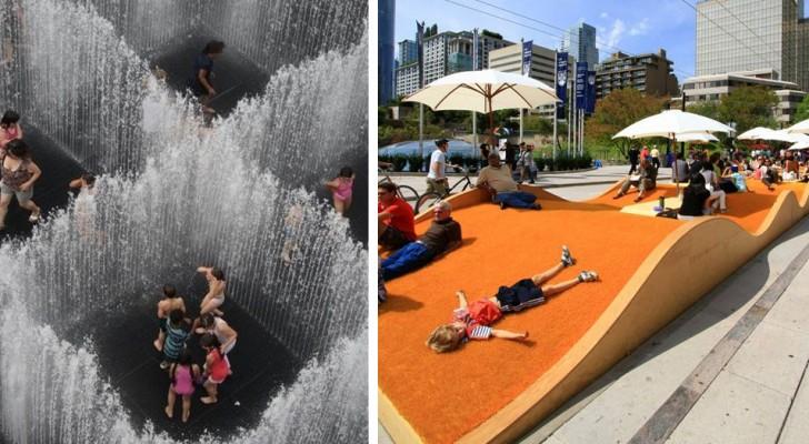 15 esempi di design urbano che tutti vorremmo avere nelle nostre città