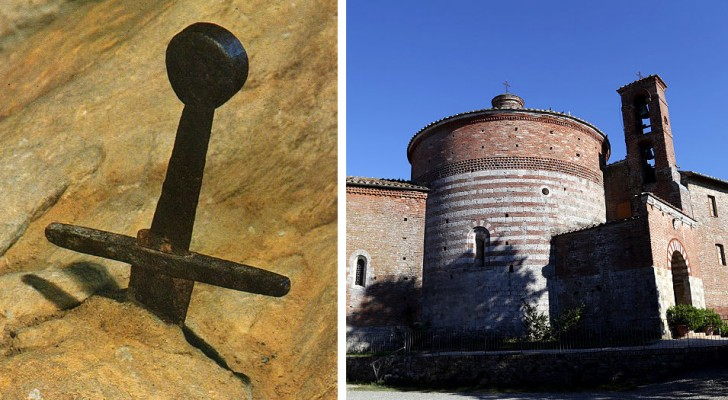 La spada nella roccia si trova in Italia: un paesino della Toscana custodisce un'enigma che dura da secoli
