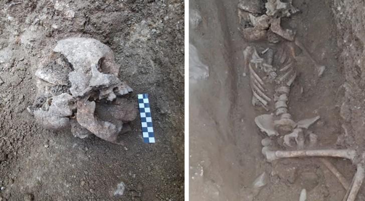 Scoperta in Italia la tomba di un bambino