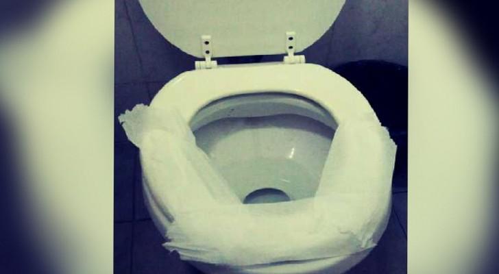 Lägger även du papper på toaringen på offentliga toaletter? Därför bör du sluta genast