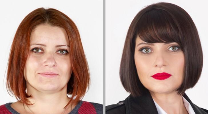 En image-konsult hjälper folk att hitta sin stil... med helt otroliga resultat