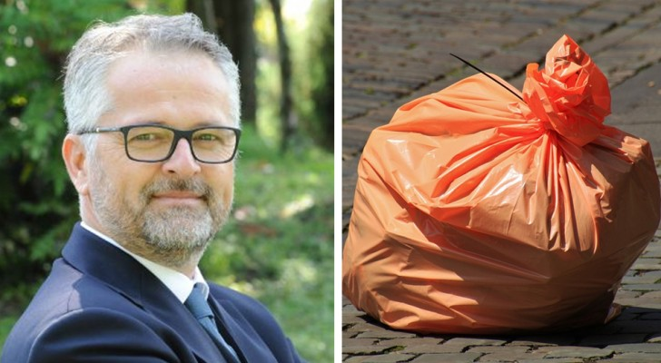 Abbandona la spazzatura in strada: il sindaco in persona gliela riporta sotto casa