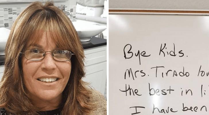 Uma professora é demitida por ter dado notas muito baixas aos alunos: a sua história deixou milhares de pessoas perplexas